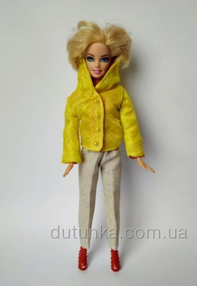 Куртка для ляльки Барбі Сонечко Dutunka