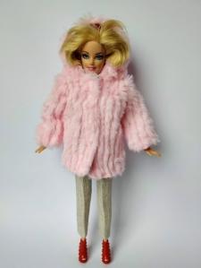 Экошубка для ляльки Барбі Рожева  (немає в наявності) Dutunka