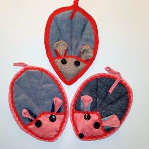 Прихватки кухонные Мышки  Dutunka
