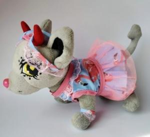 Комплект одягу для собачки Chi Chi Love Фламінговий Dutunka