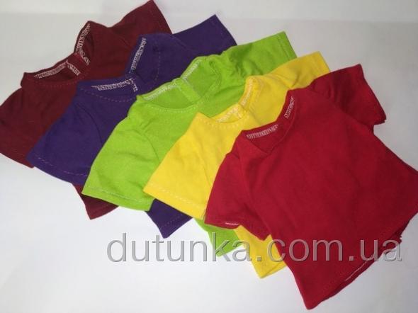 Футболка для пупса Беби Борн Радуга (5 цветаов в ассорт) Dutunka