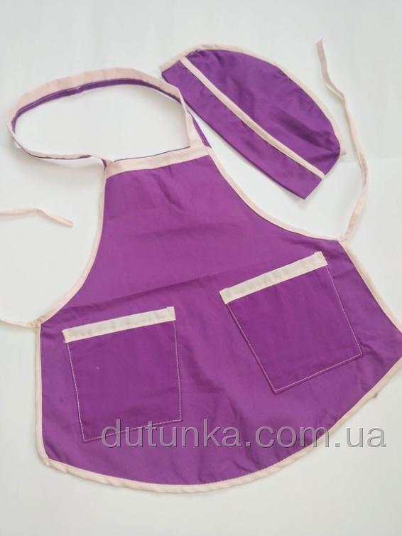 Фартух кухонний для дівчинки 3-5 років Dutunka