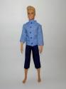Блакитна сорочка для Кена Dutunka
