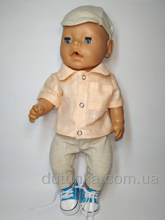 Комплект одягу для хлопчика Бебі Борн Літній Dutunka