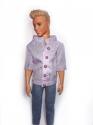 Сорочка з короткими рукавами для Кена (кольори) Dutunka