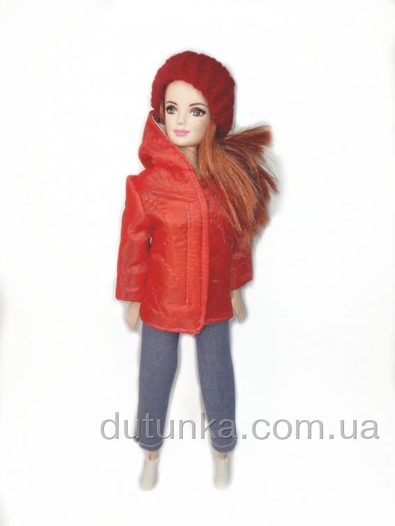 Куртка для Барбі Червона Dutunka