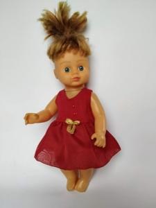Плаття літнє для куколки 28 см Кармен  Dutunka