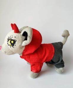 Піджак з капюшоном для собачки Чи Чи Лав Полум´я Dutunka
