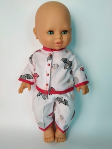 Пижама для пупса 32 см Летняя Dutunka