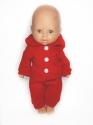 Костюм для ляльки 32 см Трикотажний (кольори у асортименті) Dutunka