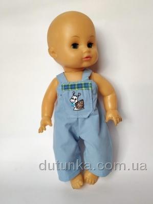 Літні штанці з грудкою для пупса 35 см  (немає в наявності) Dutunka