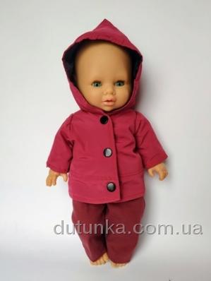 Куртка для пупса 32 см Малинка Dutunka