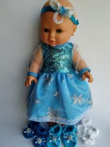 Сукня для пупса 32 см Ельза (немає) Dutunka