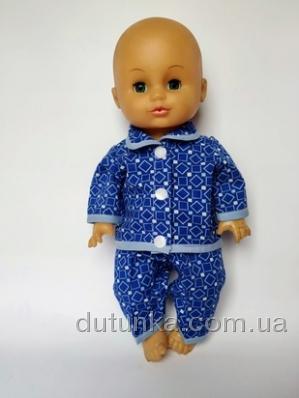 Піжама для пупса-хлопчика 35 см Dutunka