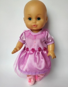 Ошатне плаття для пупса 35 см Трояндочки Dutunka