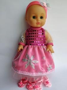Сукня для пупса 35 см Рожева фея Dutunka