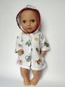 Баєвий халатик з капюшоном для пупса 38 см Іграшки Dutunka