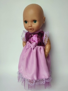 Сукня для пупса Бебі Борн 38 см Принцеса Dutunka