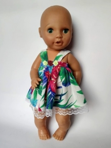 Літнє плаття для лялечки 38 см Літній (немає в наявності) Dutunka
