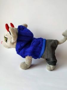 Тепла жилетка для собачки Чи Чи Лав Синя (немає в наявності) Dutunka
