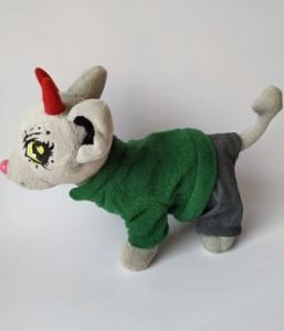Теплий флісовий піджак для собачки Чі Чі Лав   Dutunka