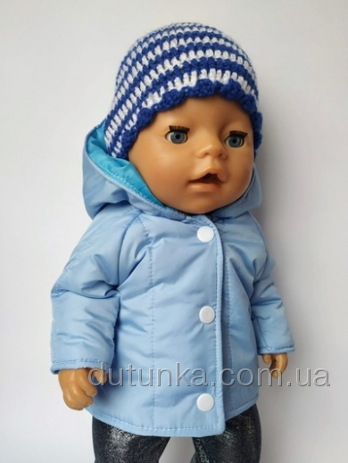 Зимова куртка для пупса-хлопчика Бебі борн (немає в наявності) Dutunka