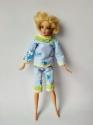 Пbжамка для Barbie  Сині ведмедики Dutunka