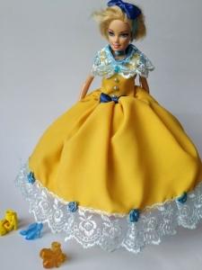 Сукня для ляльки Барбі Сонячне (немає в наявності) Dutunka
