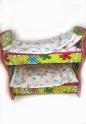Ліжечко для Barbie Квіткове   Dutunka
