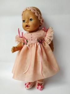 Бальне плаття для пупса Бебі Борн Аврора Dutunka