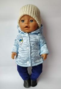 Куртка для пупса-мальчика Беби борн Винни со штанишками (бб787) Dutunka