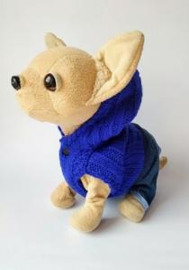 Теплая жилетка с капюшоном для собачки Чи чи лав   Dutunka