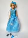 Плаття для Барбі Ельза  (2 кольори) Dutunka