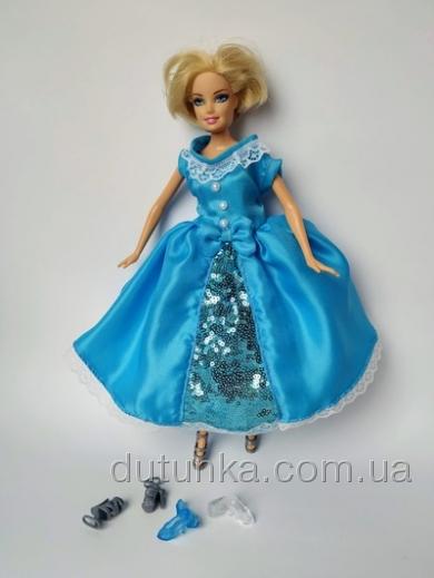 Бальне плаття Попелюшки для ляльки Барбі Dutunka