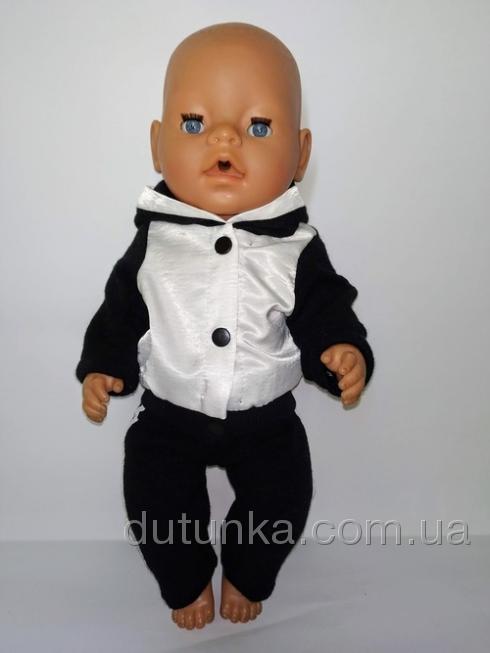 Спортивний костюм для пупса Бебі Борн Dutunka