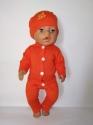 Трикотажний брючний костюм для пупса Бебі Борн (немає) Dutunka