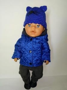 Куртка для хлопчика Бебі Борн Синя Dutunka