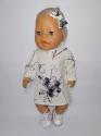 Нарядне плаття з повязкою для  Бебі Борн    Dutunka