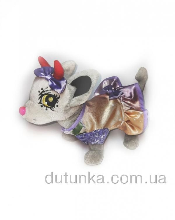 Атласне плаття для собачки Chi Chi Love Бузок   Dutunka
