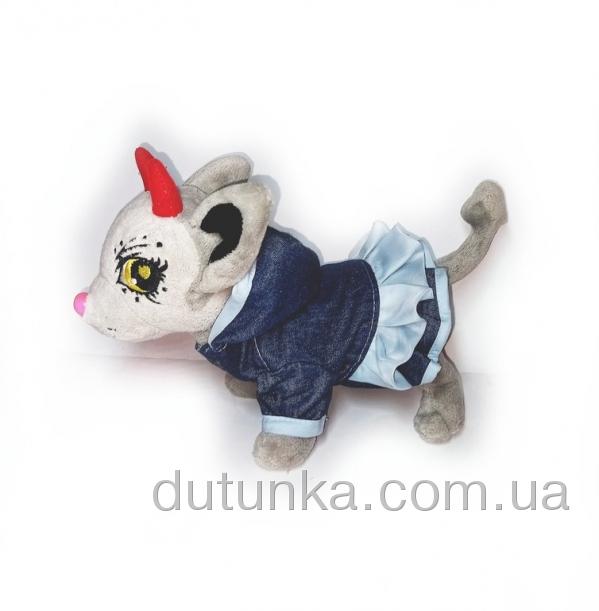 Джинсова сукня для собачки   Dutunka