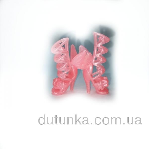 Рожеві чобітки для Барбі з крилами Dutunka