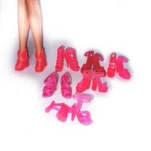 Рожеві босоніжки для Барбі  Dutunka