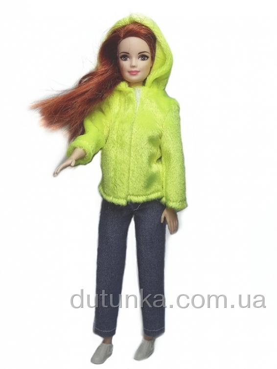 Шубка для Барби Лимон Dutunka