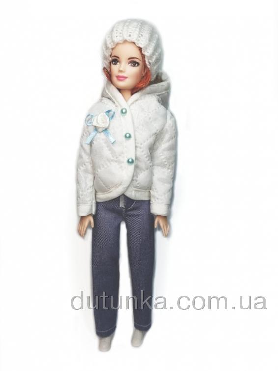 Куртка для ляльки Барбі Білосніжка Dutunka
