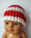 В´язана шапка для Baby Born Полосатик Dutunka