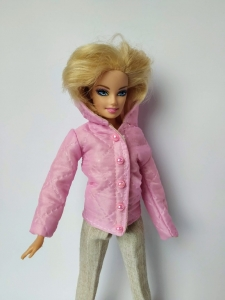 Куртка для Барби Розочка (Б304) Dutunka