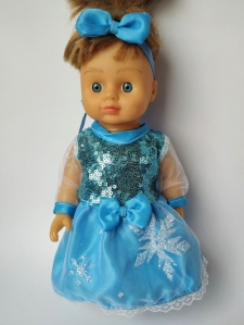 Нарядне плаття для лялечки Ельза (немає) Dutunka