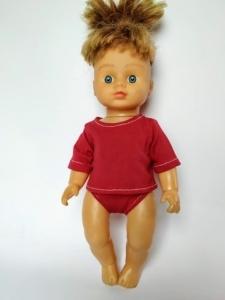 Комплект белья для куколки 28 см (цвета в ассортименте) Dutunka