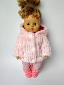 Экошубка для куколки 28 см  Dutunka