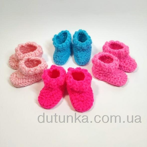 Зимові чобітки для лялечки ростом 28 см Dutunka